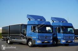 Camion châssis MERCEDES-BENZ / ATEGO / 1224 / ACC / EURO 6 / BDF / DO ZABUDOWY / MAŁY PRZEBIE
