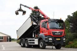 MAN TGS truck used three-way side tipper