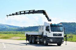 Kamión MAN TGA 26.430 Pritsche 6,20m +PK 29002 + FUNK/6x4 valník ojazdený