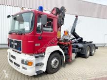 Camion polybenne MAN AK 28.343 FNLC 6x4 BL 28.343 FNLC 6x4 BL mit Kran Atlas 220.1, Seilwinde, Funk