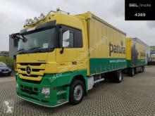 Камион Mercedes Actros Actros 1844L / Retarder / Alu-Felgen /ONLY TRUCK шпригли и брезент втора употреба
