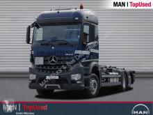 Mercedes 2545 Meiller Abrollkipper 21.70, Retarder, Navi truck used tipper
