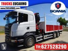 Camion plateau Scania R 420