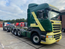 Camion Scania R 490 porte containers occasion