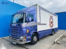 Camión Scania 114 340 Manual furgón usado