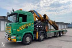 Camión Scania R124 400 caja abierta estándar usado