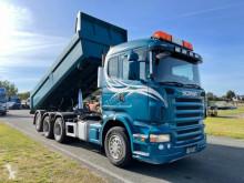 Lastbil dubbel vagn Scania R 500