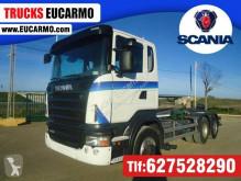 Scania R 420 LKW gebrauchter Abrollkipper