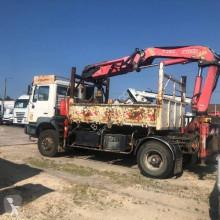 MAN fúróberendezés teherautó FE 310 A