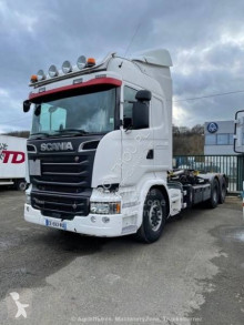 Camion Scania R 580 polybenne occasion