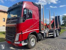 Camión maderero Volvo FH 460 Globetrotter