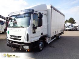 Teherautó Iveco Eurocargo használt függönyponyvaroló