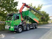 Caminhões poli-basculante DAF CF 85.460 8X4 Kipper+Kran Palfinger PK20002 Funk