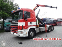 Camión Scania GB R400 6x2-4 GB R400 6x2-4, Kran Palfinger PK7000, Funk, Lenk-/Liftachse, Allison Automatik, Retarder Gancho portacontenedor usado