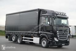 Camion rideaux coulissants (plsc) MERCEDES-BENZ / ACTROS / 2542 / ACC / E 6 / FIRANKA + WINDA / OŚ SKRĘTNA / RET
