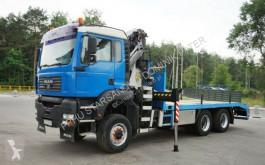 Camión caja abierta MAN TGA 33.410 6x6 Palfinger PK 26502 Crane Kran