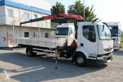 Камион платформа Renault MIDLUM 220.12, CRANE/KRAN FASSI F80A.22, 3650 KG