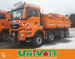 Ciężarówka MAN MAN 4-Achser 35.500 Hydrodrive Winterdienst mit Streuer 6,0m³ używana