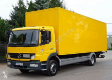Camión furgón Mercedes Atego 1222 euro 5 kontener winda sprowadzony