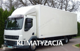 Camión DAF LF 45.180 Euro 4 kontener 18 palet klapa winda poduszki furgón usado