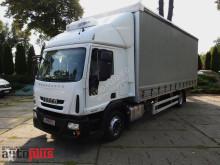 Camión lonas deslizantes (PLFD) Iveco EUROCARGO120E25 PLANDEKA 18 PALET WINDA KLIMATYZACJA WEBASTO