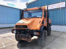 Camion Mercedes UNIMOG U400 WITH ALL HYDRAULIC CONNECTIONS plateau occasion