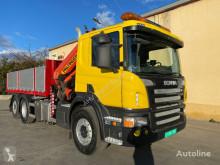 Camion Scania 420 6X2 PALFINGER 20002 VOLQUETE occasion