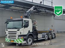 Camión Gancho portacontenedor Scania P 380