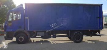 Camión Iveco Eurocargo 120 E 18 caja abierta transporte de bebidas usado