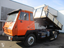 Steyr 1291 , Manual Eaton , 3 way tipper , spring suspension truck used three-way side tipper