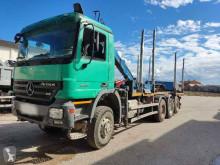 Caminhões Mercedes Actros 3351 LS transporte de madeira usado