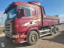 Kamión Scania G 124 470 hp tipper-tractor unit truck Volvo-Iveco korba ojazdený