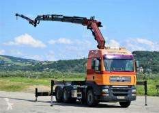 MAN flatbed truck TGA 26.480 + FASSI F235AXP.25 + JIBL102+FUNK*6x4