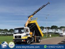 Camião MAN 12.192 full steel crane tri-basculante usado
