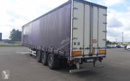 Lastbil Lecitrailer SEMI REMORQUE 38T skjutbara ridåer (flexibla skjutbara sidoväggar) begagnad