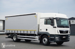 Camión lonas deslizantes (PLFD) MAN TGM / / 18.250 / ACC / EURO 6 / FIRANKA / ŁAD. 10 750 KG / MAŁY