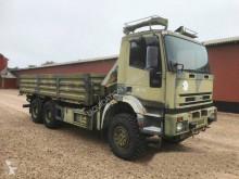 Camión caja abierta teleros Iveco MP 260E37W 5.9m 6x6 Truck crane HMF 823K2