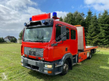 Camión caja abierta Carrier MAN 12.240 239 cv car truck Renault-Iveco