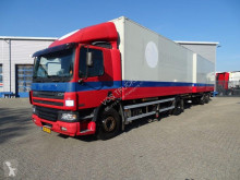 Camion remorque fourgon DAF CF75