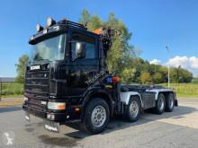Ciężarówka do transportu kontenerów Scania R 124 CB 420