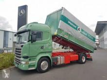 Camión Scania R 490 LB 4x2 Getreidekipper Kempf Retarder 90tkm volquete para cereal usado