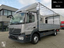 Kamión Mercedes Atego 1221 / Ladebordwand / Rückfahrkamera valník s bočnicami a plachtou ojazdený