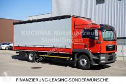 MAN ponyvával felszerelt plató teherautó TGM 18.340 LL Pritsche 7,24m L-Haus E5 EEV Klima
