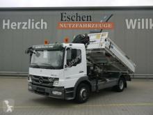Ciężarówka wywrotka trójstronny wyładunek Mercedes Atego 1222 Atego Meiller3-S-Kipper*HIAB 088*5.+6.Kreis