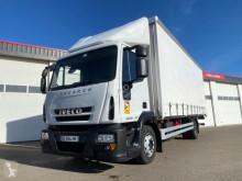 Camión lonas deslizantes (PLFD) Iveco EURO CARGO ML 120E18 EURO 5 TAUTLINER AVEC HAYON PALFINGER