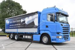 Camión Scania R 520 lonas deslizantes (PLFD) usado