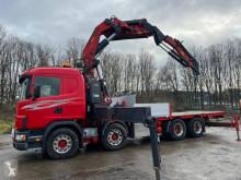 Camión caja abierta estándar Scania R 124 GB 420