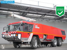 Camion pompiers Mercedes Crashtender Fire Truck Sides Airport Rescue-Vehicle
