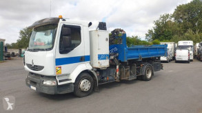 Renault Midlum 220 DXI truck used two-way side tipper