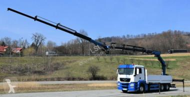 Camión caja abierta MAN TGS 26.480 * PK 27002 + JIB PJ060 + FUNK / 6x4
